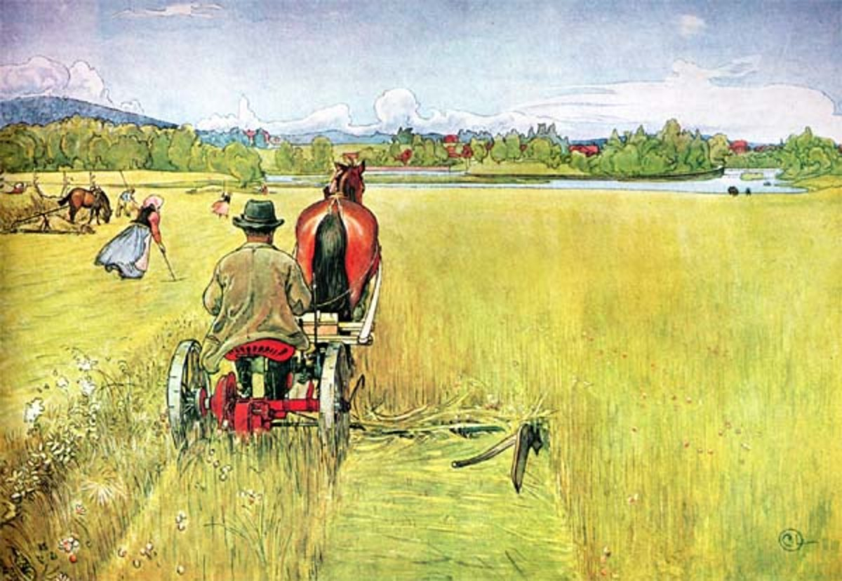 Summer by Carl Larsson. Image courtesy of Wiki Commons