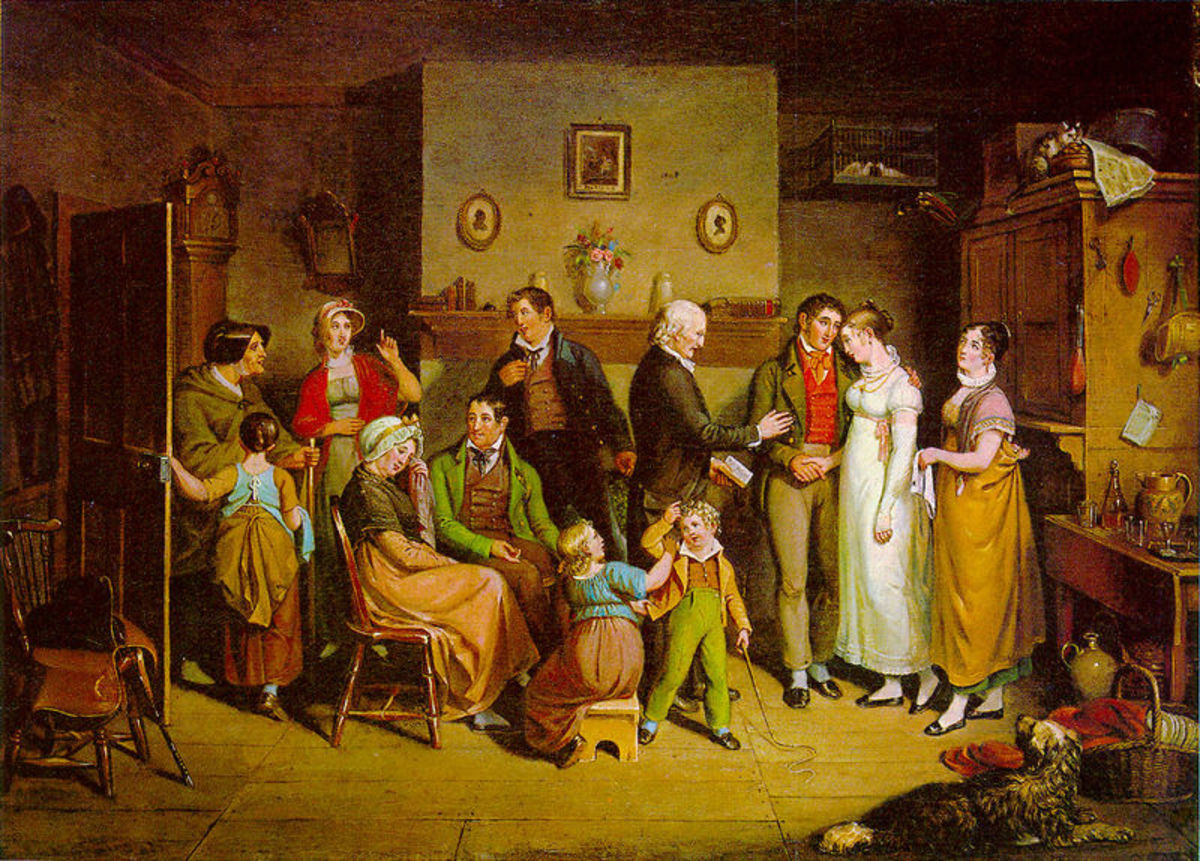 The Country Wedding by John Lewis Krimmel, 1820. Image courtesy of Wiki Commons
