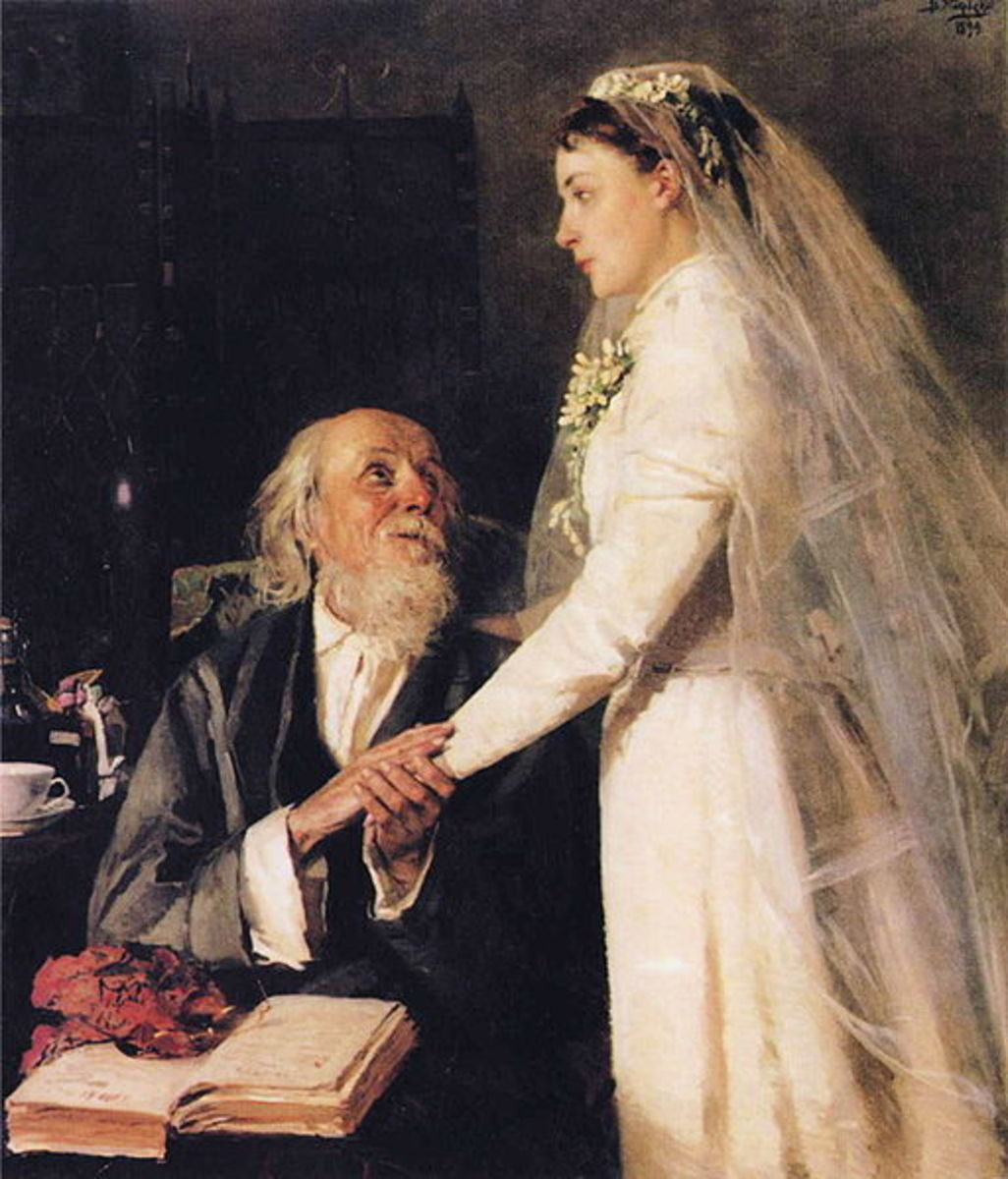 Goodbye Papa by Vladimir Makovsky, 1894. Courtesy Wiki Commons