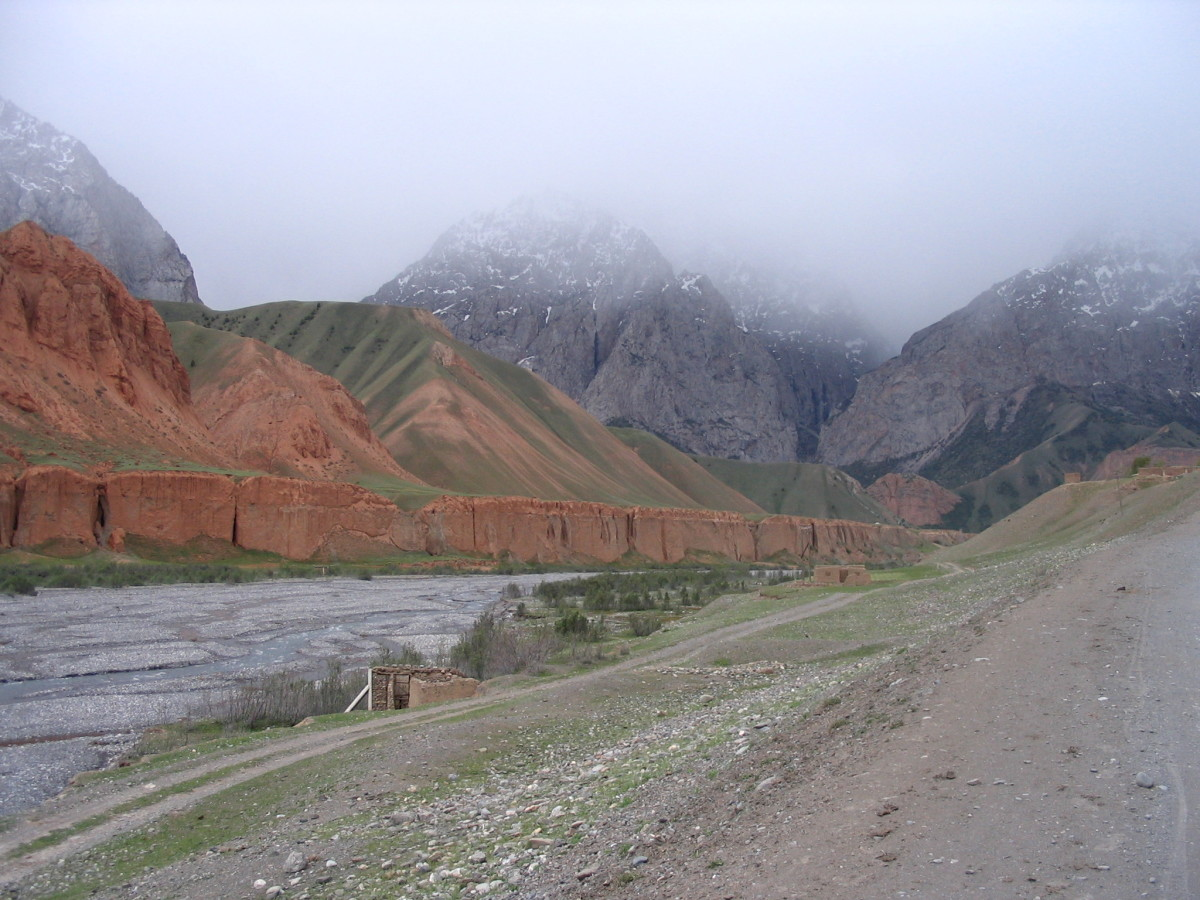 """Across the Pamirs from Murghab to Osh"""
