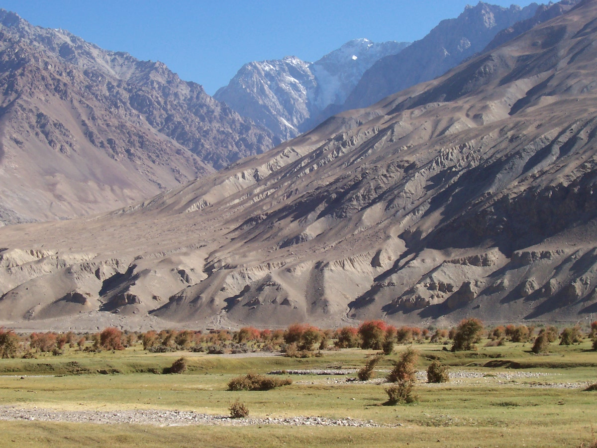 Kuran wa Munjan valley in Badakhshan in Afghanistan, in the Hindu Kush