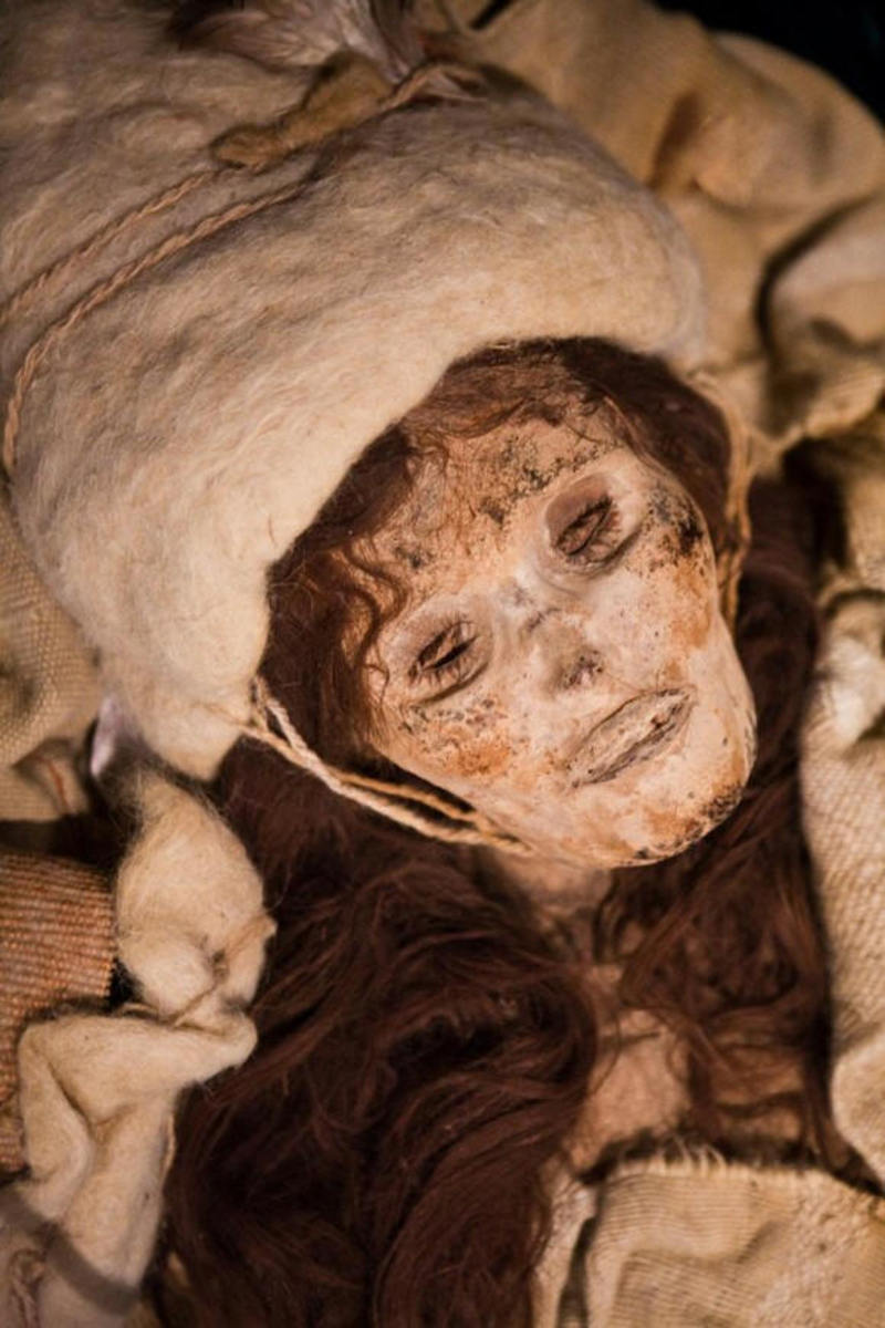 Mummie of Tarim The beauty of loulan..