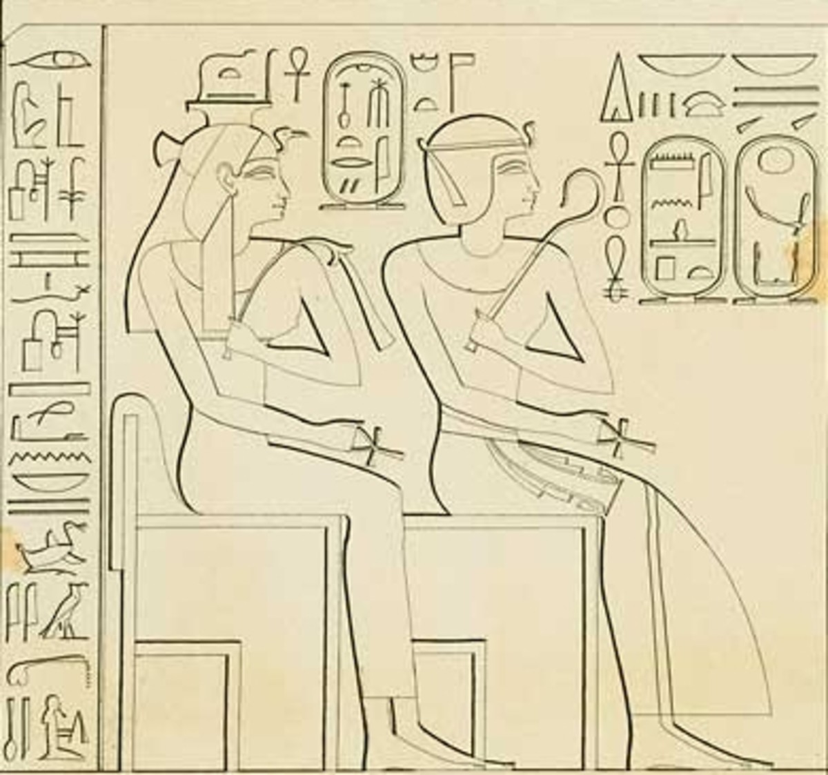 Ahmose-Nefertari and Amenhotep I