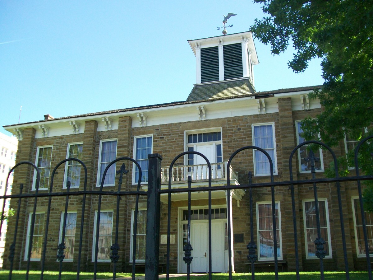The Creek Counsel House as it appears today.