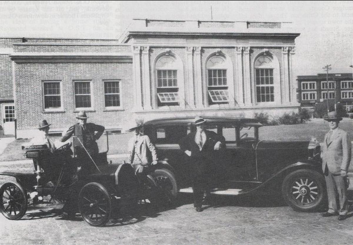 The Okmulgee Library - late 20's, early 30's.