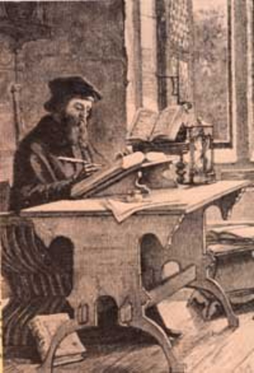 John Wycliffe translated the Bible into English.