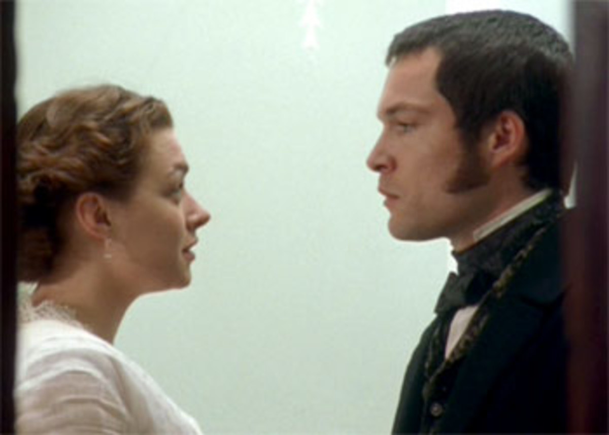 Margaret with Henry Lennox, played by John Light
