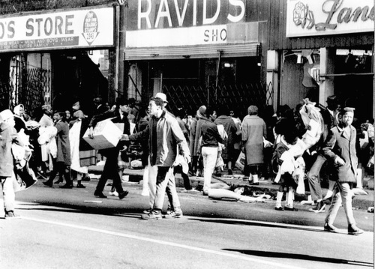 RACE RIOTS 1968 IN CHICAGO