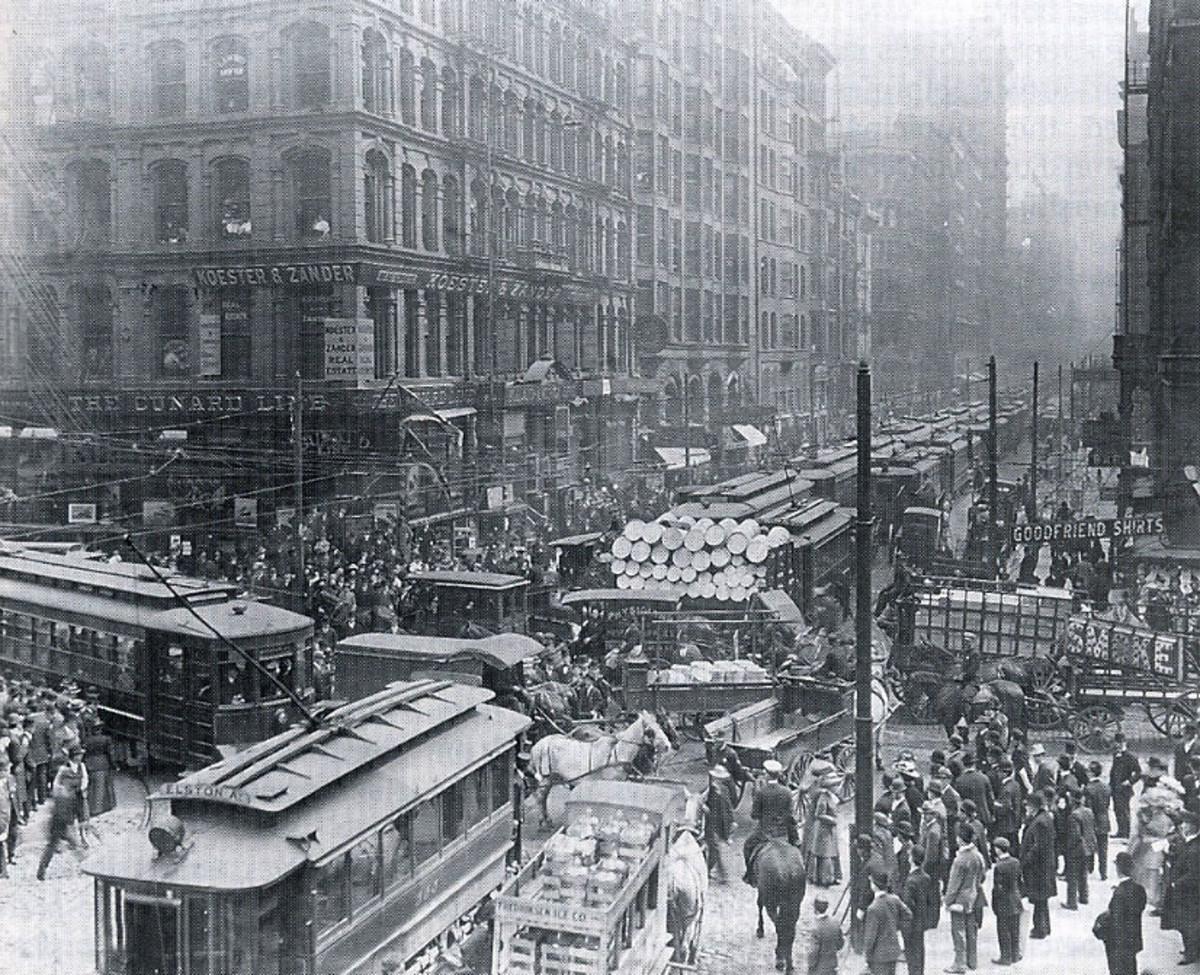 CHICAGO IN 1905
