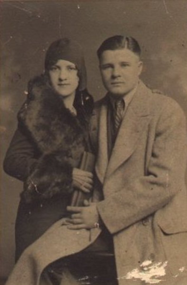 The Gangsters: Charles Arthur Floyd and his Wife