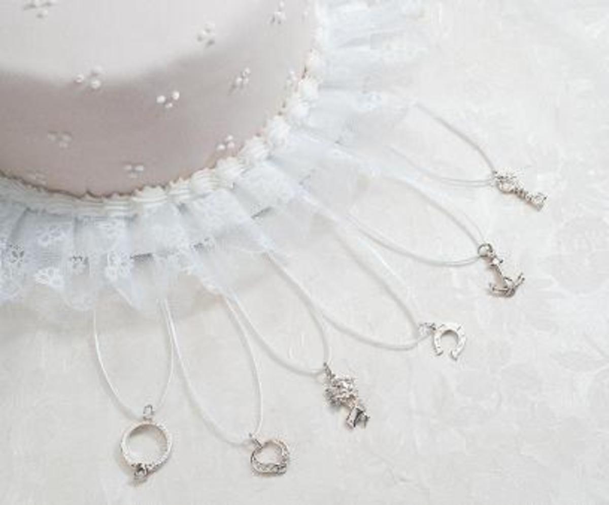 Victorian Wedding Cake Charms