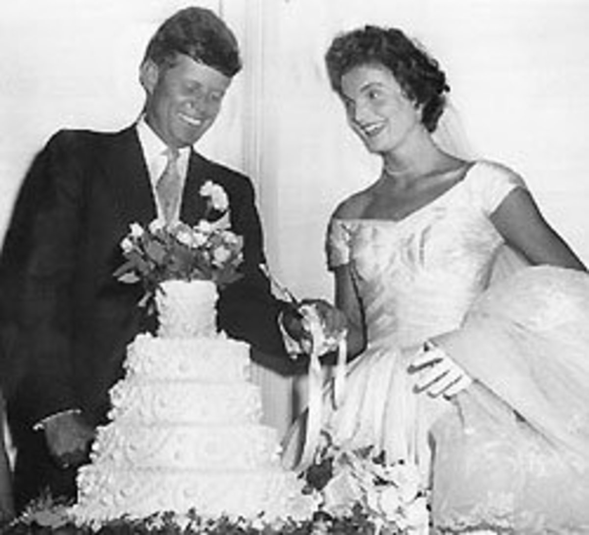 Jacqueline Kennedy's Wedding Cake