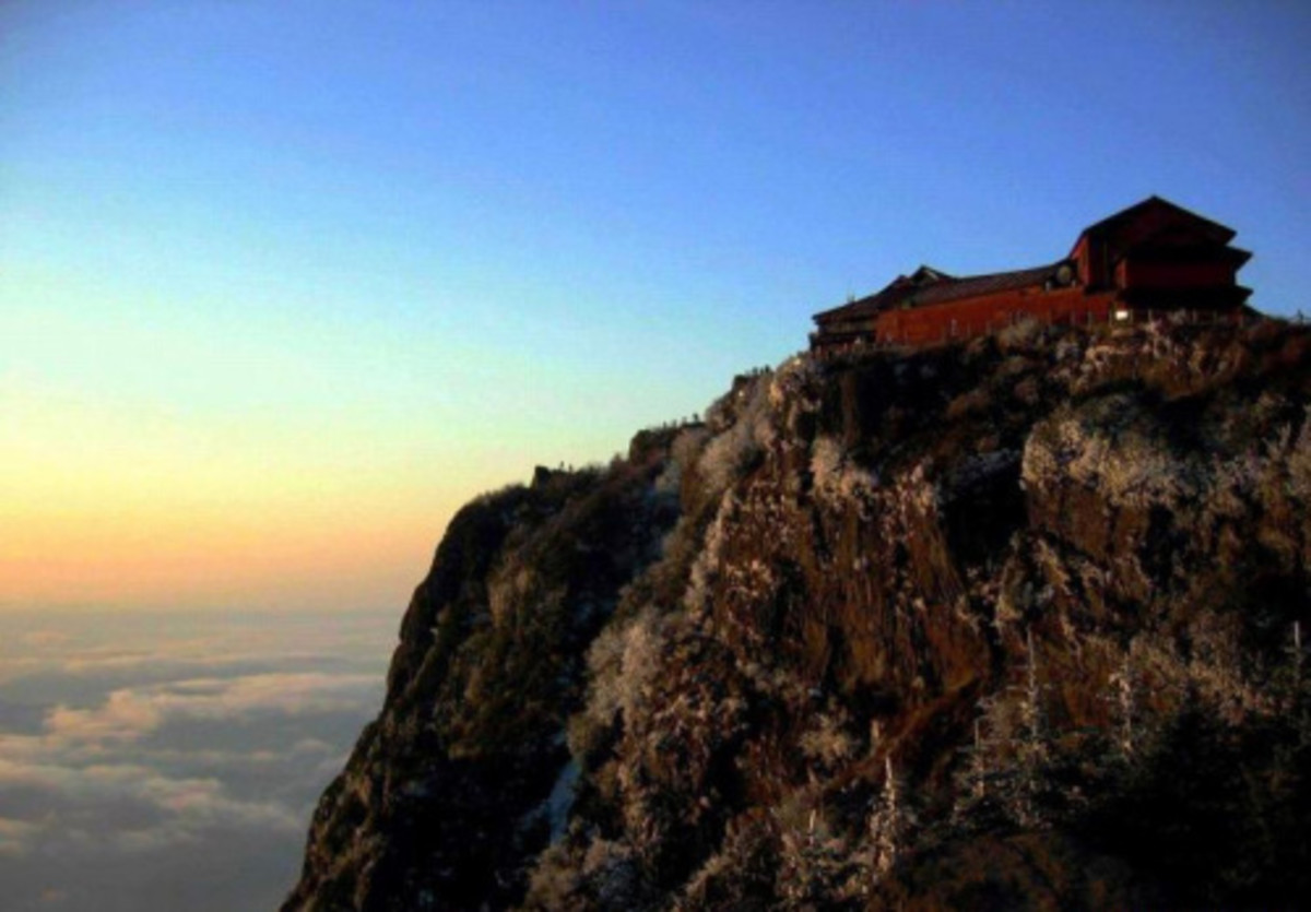 Mount Wutai, literally Five Plateau Mountain