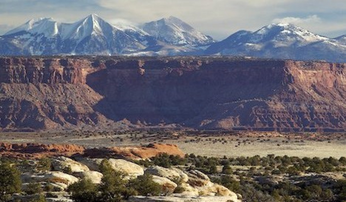 Colorado Plateau at Canyonlands National Park