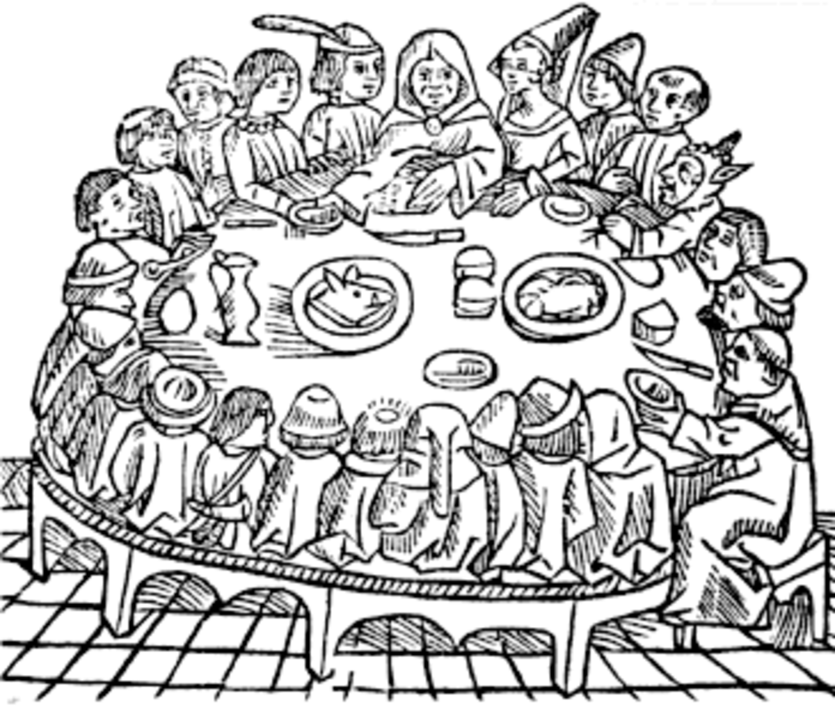 The Canterbury Tales was of a very mixed group of people, which is why it is a good source of knowledge about the time period then.