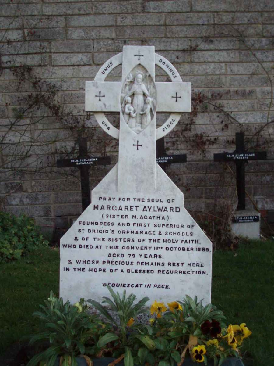Grave of Margaret Aylward