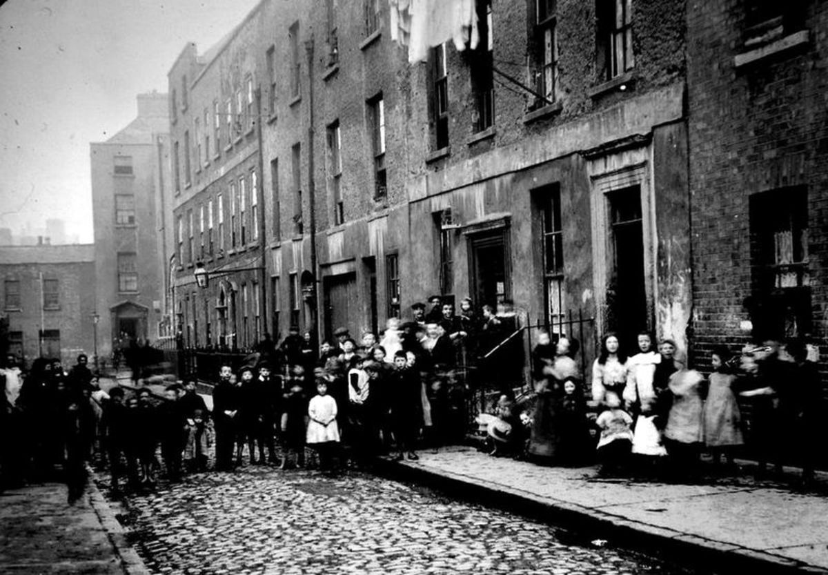 The story of the Irish Cholera epidemic in the Dublin slums in 1832 in Ireland