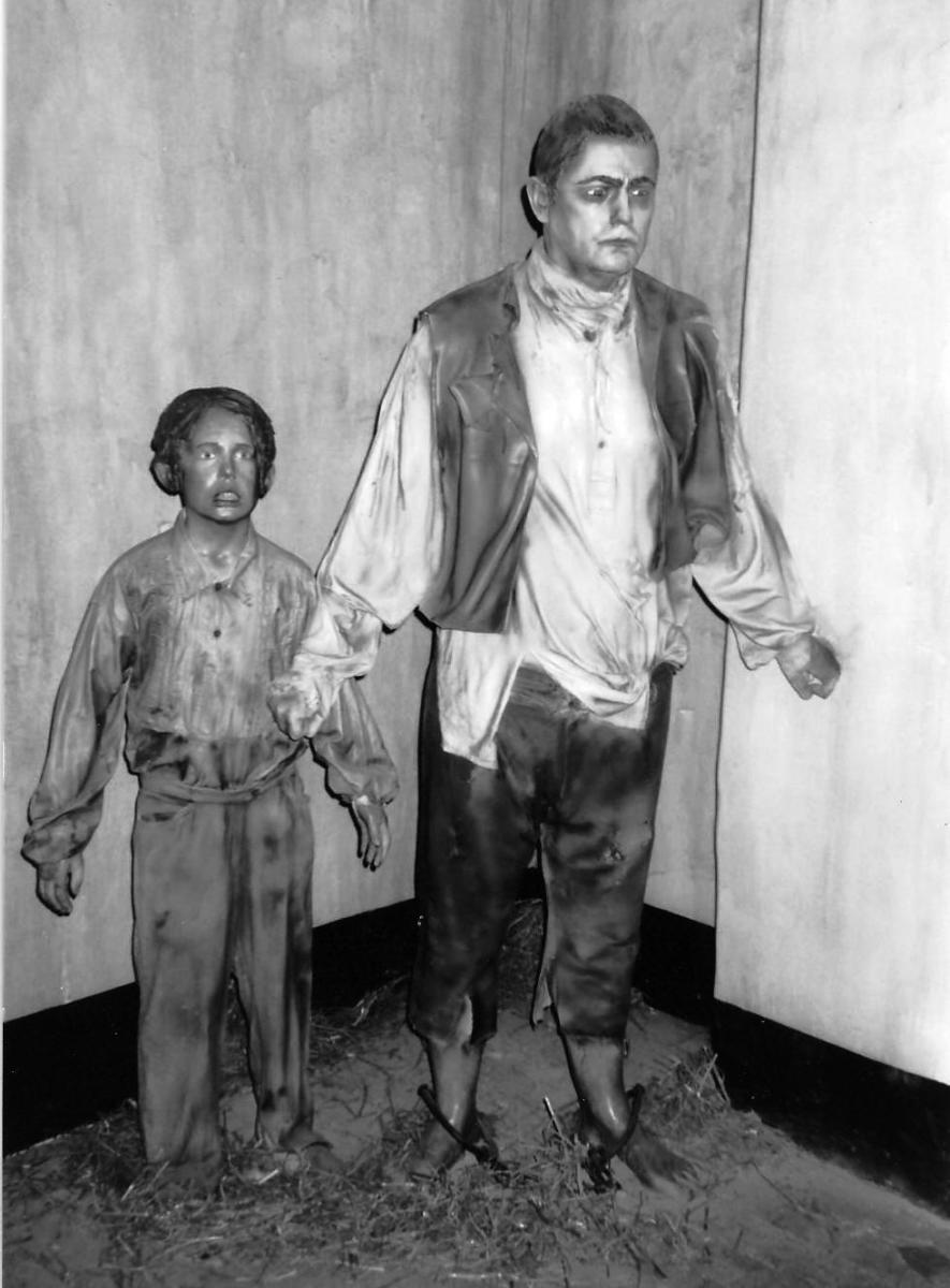 Children were also given harsh treatment in prisons in Ireland