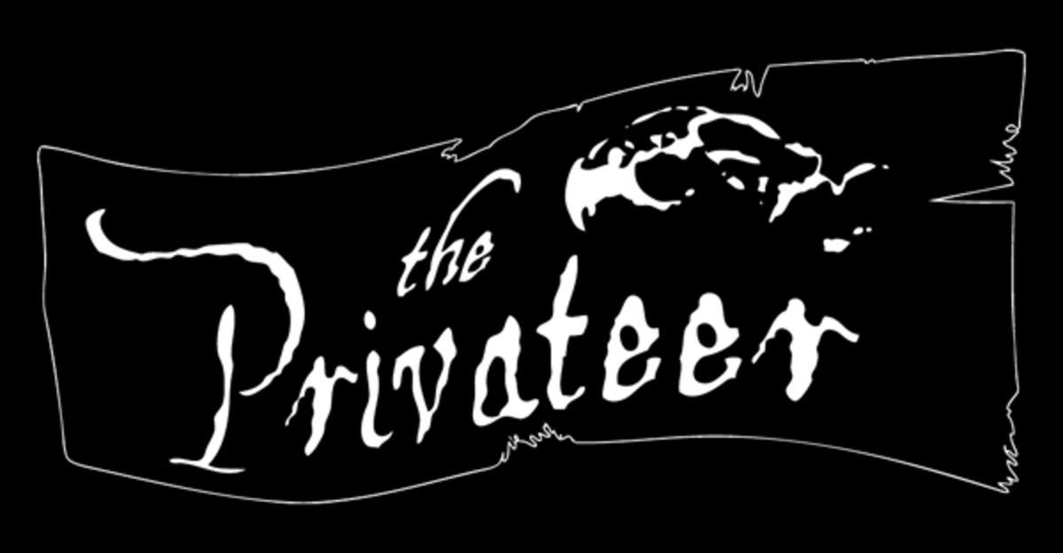 Privateers were considered distinguished pirates, but pirates nonetheless.