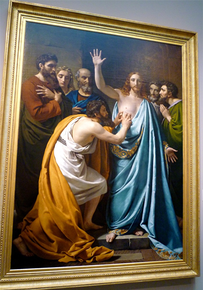 The Incredulity of Saint Thomas by Francois-Joseph Navez
