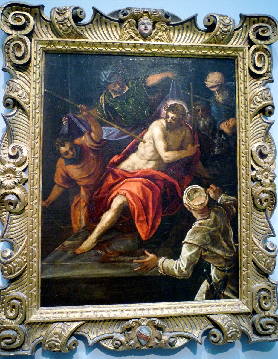 Mocking of Christ by Tintoretto