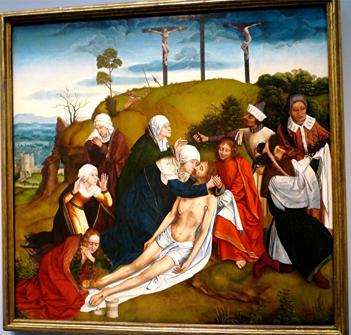 Lamentation attributed to Quentin Massys