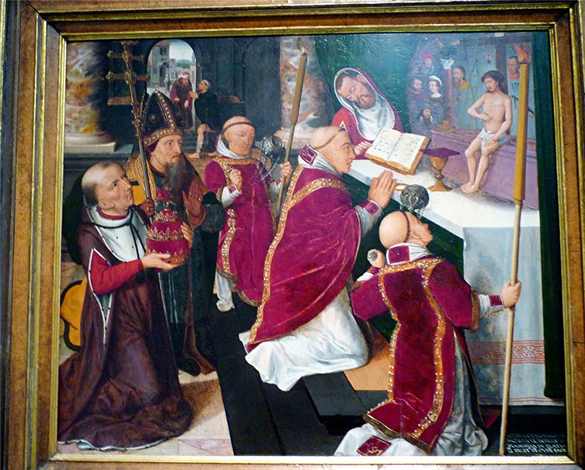 The Mass of Saint Gregory by Petrus Nicolai Moraulus