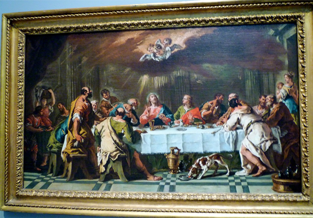 Last Supper by Sebastiano Ricci
