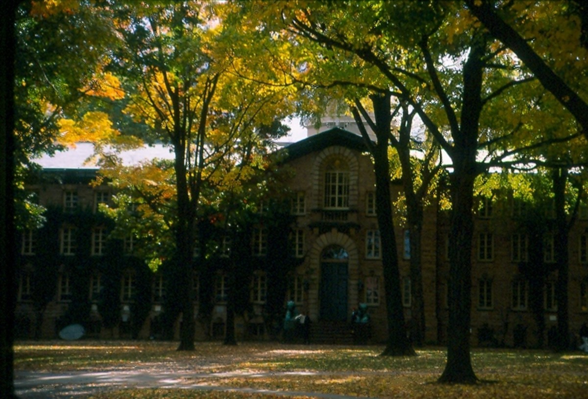 Nassau Hall, Princeton, New Jersey.