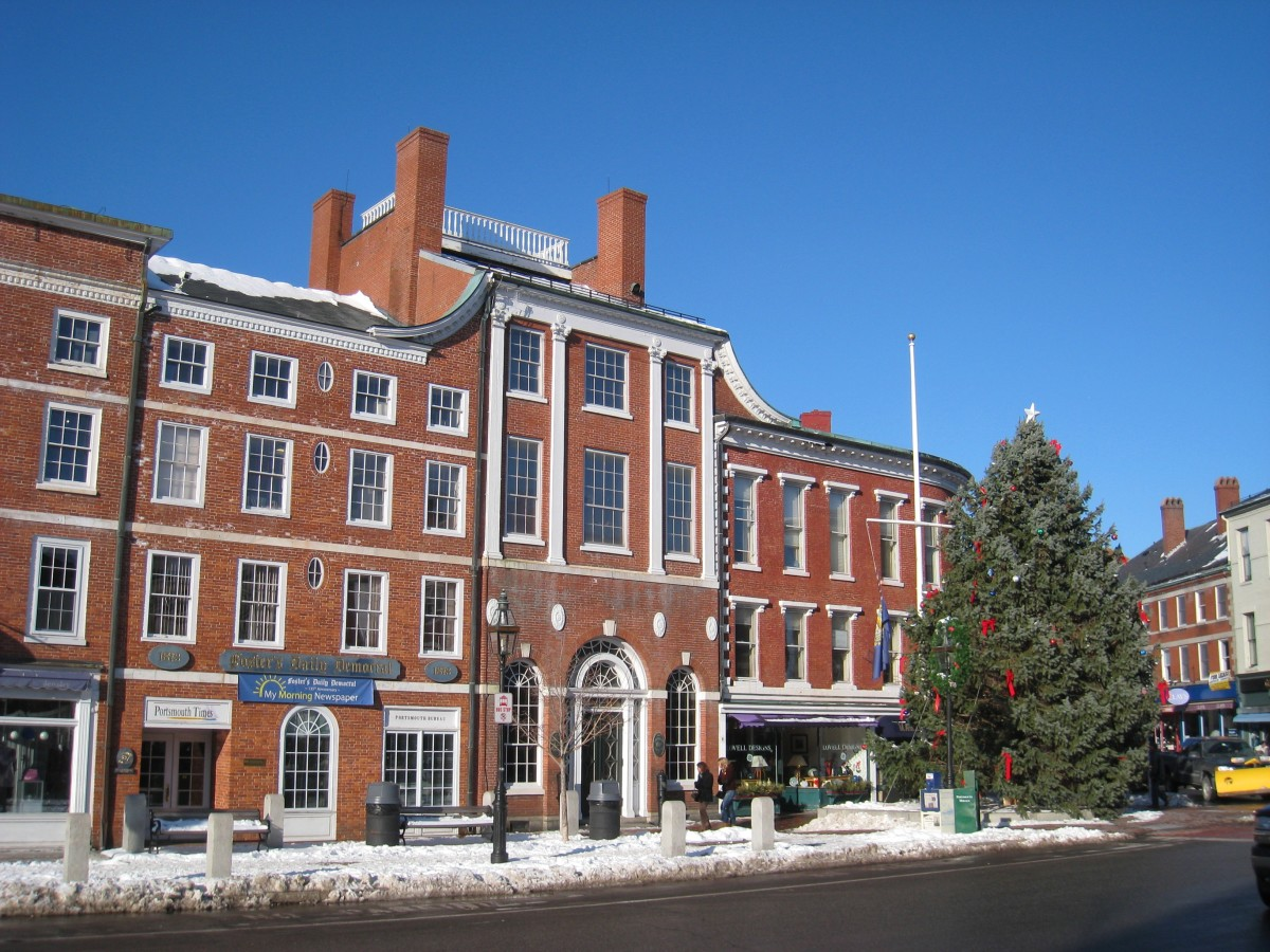 Market Square in downtown Portsmouth.
