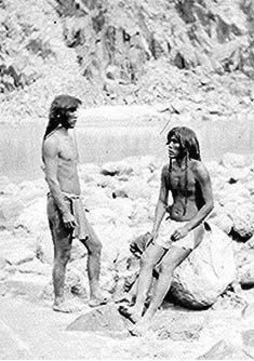 Young Mohave men (1871)