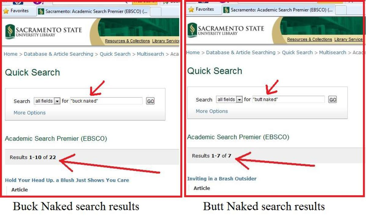 This is the kind of search you use when seeking sources for academic writing--unlike Google search, which finds stuff with SEO manipulation to get on top of the list (burying peer reviewed work).