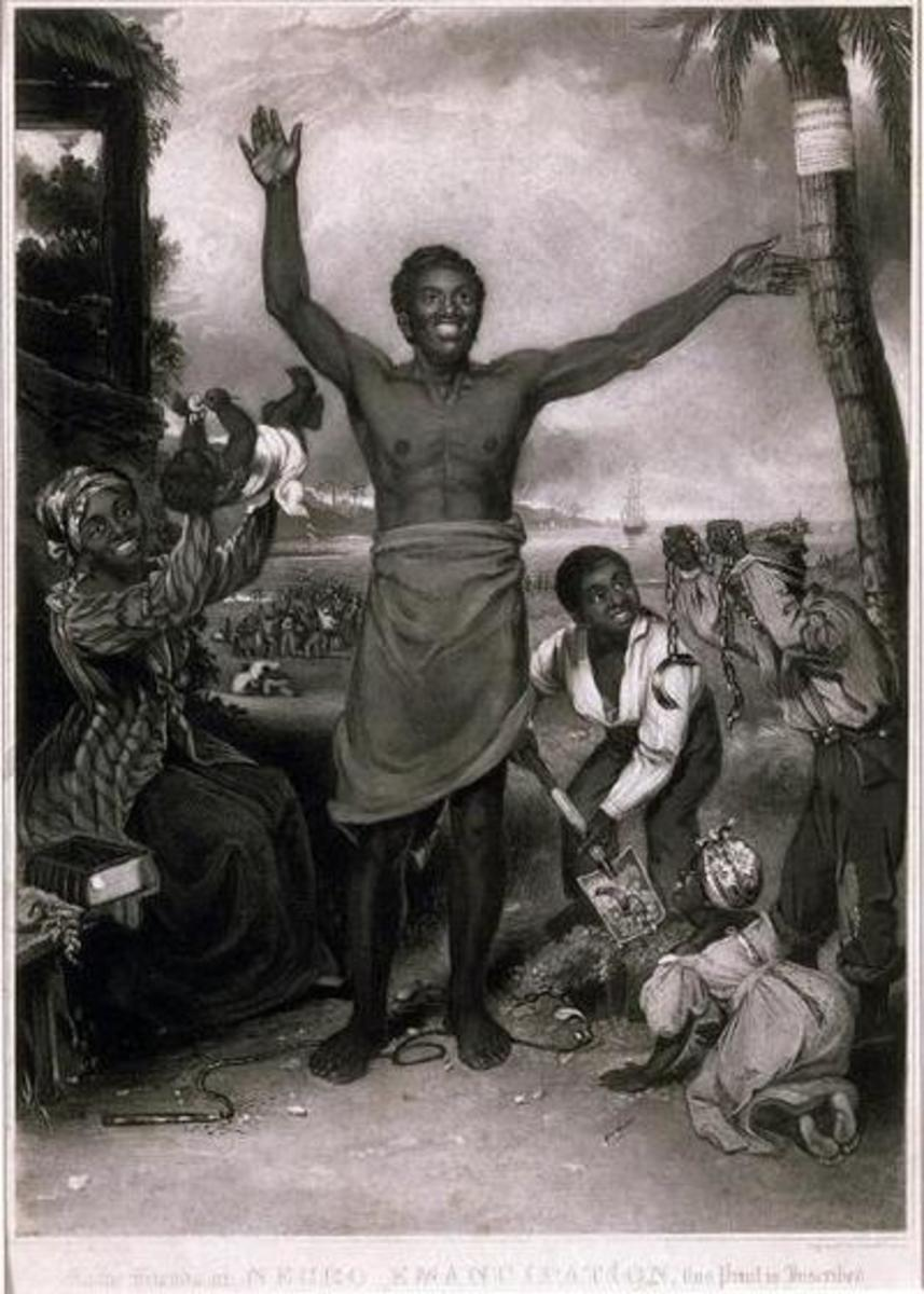 """To the Friends of Negro Emancipation."" [circa 1830]Alexander Rippingille (engraving: David Lucas) -"
