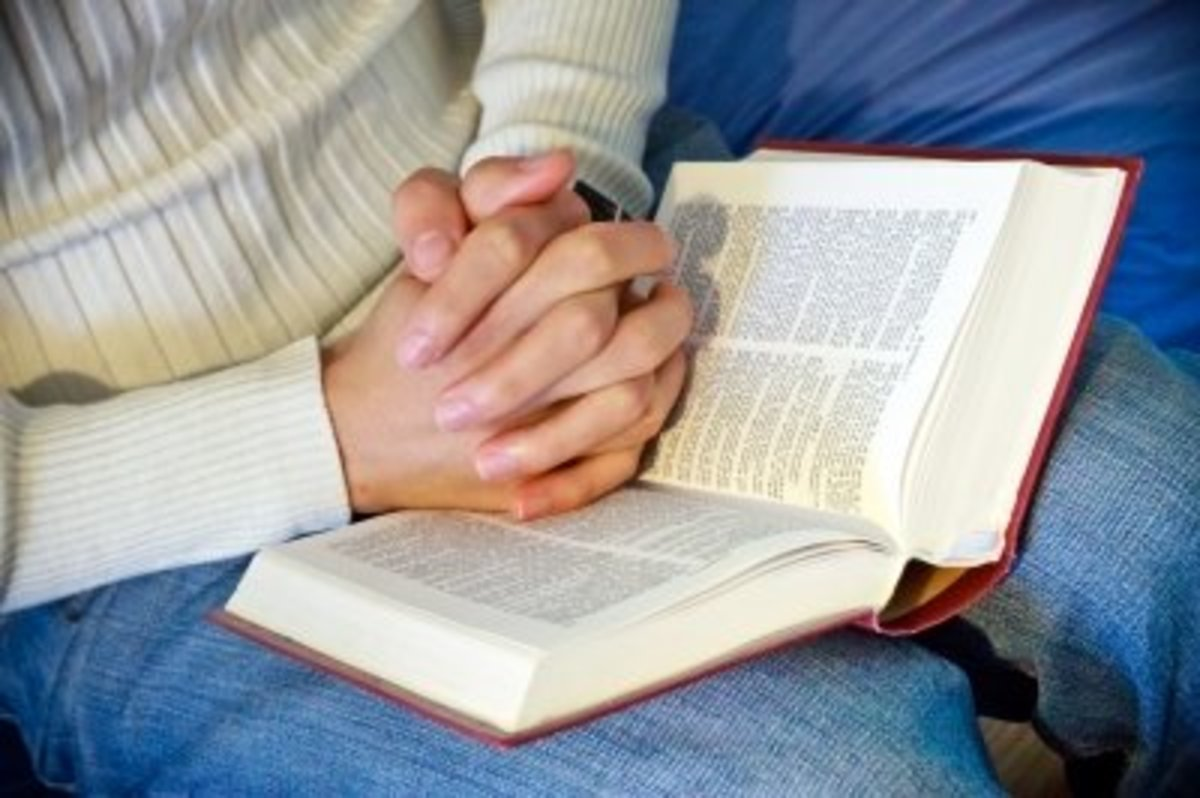 Meditating on his Word is essential to building your faith in God.