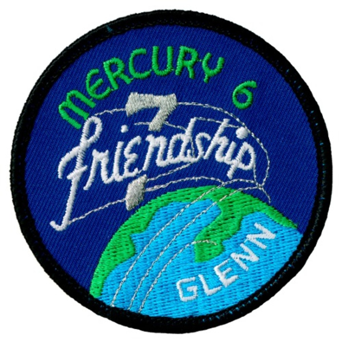 Mission Patch: John Glenn/Friendship 7