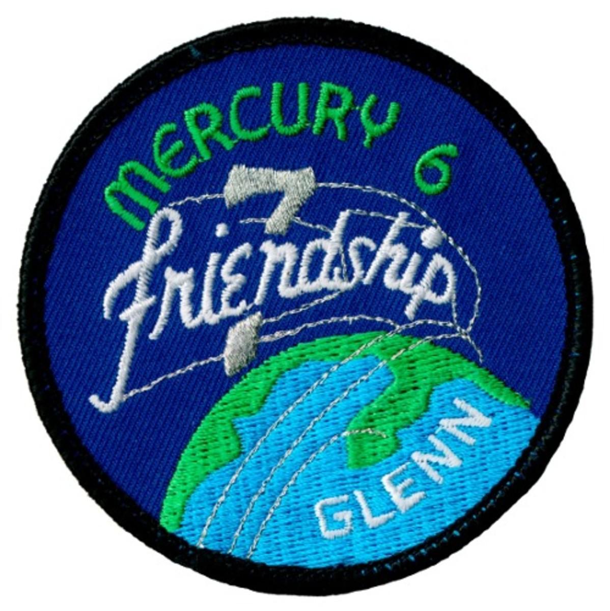 Mission Patch: John Glenn/Friendship 7