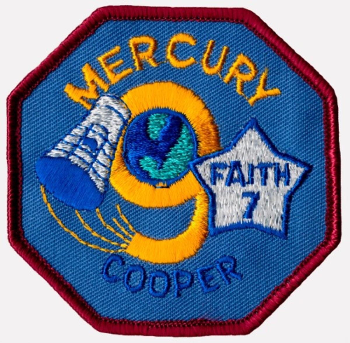 Mission Patch: Gordon Cooper/Faith 7