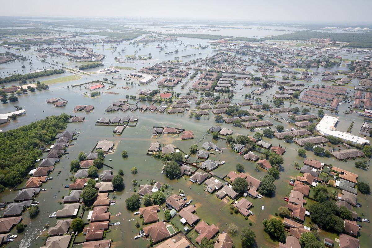 Flooding after Hurricane Harvey