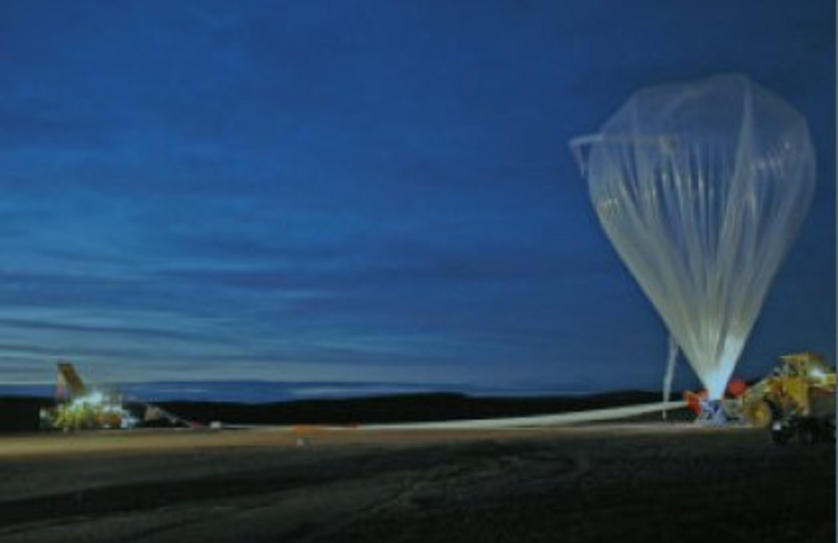 "OPTEX High Altitude Platform is launched, August 2005.  High-altitude balloon technology might be used to inject sulphates into the stratosphere to ""geoengineer"" global cooling."