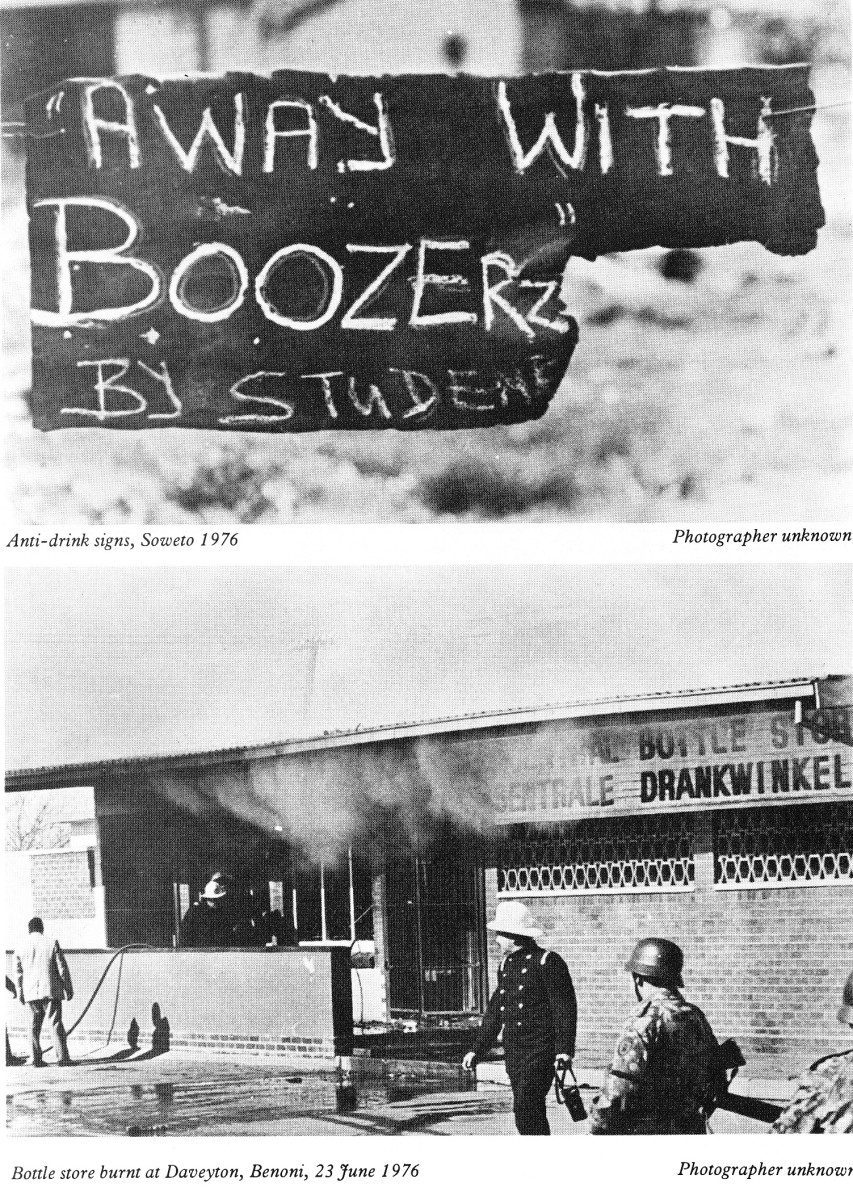 Student were very militant and were intent of destroying Booze which was responsible for decimating the Black community and making millions alcoholics and broke both the family and society