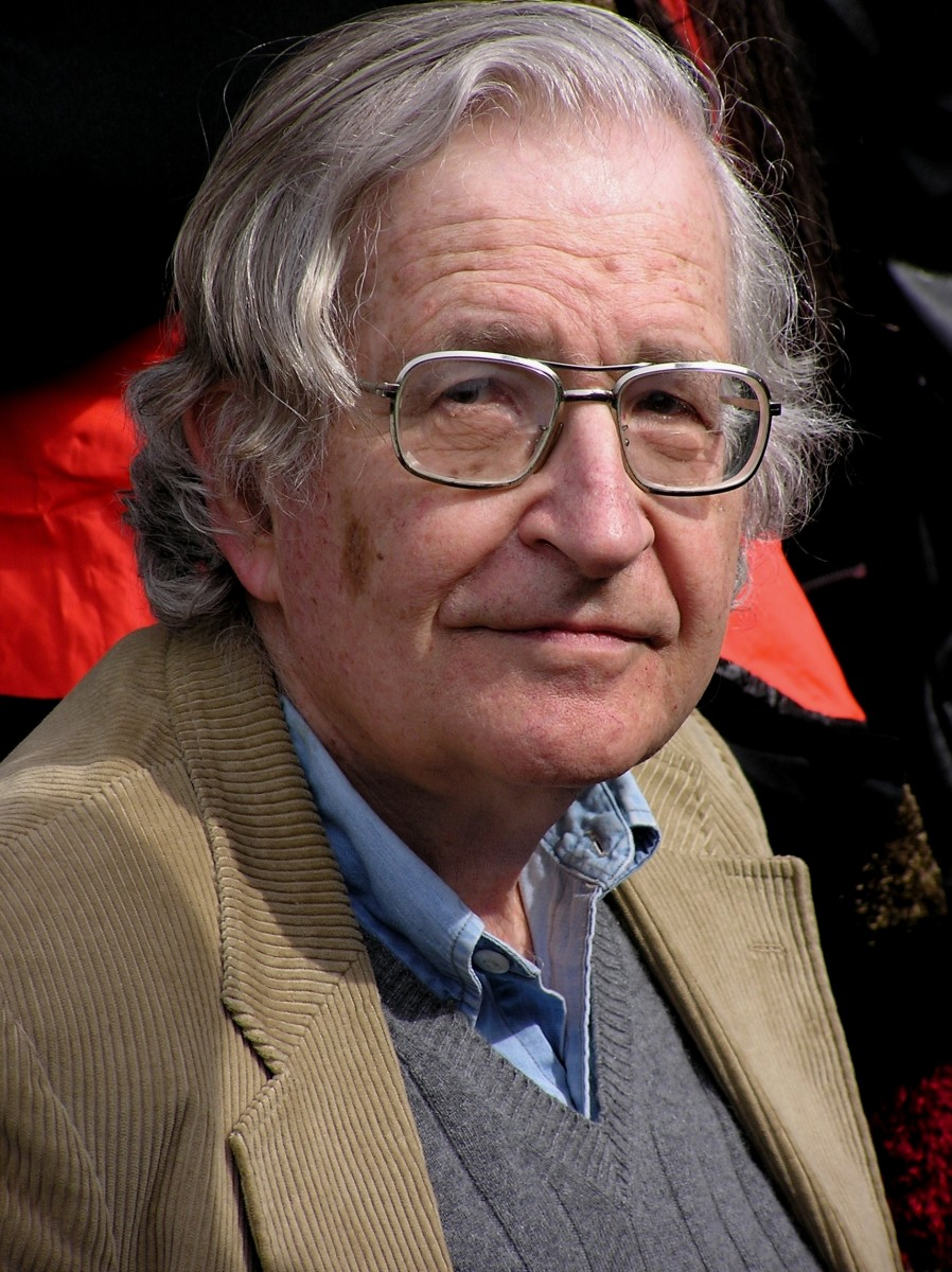 Noam Chomsky is like the Michael Jordan of linguistics.