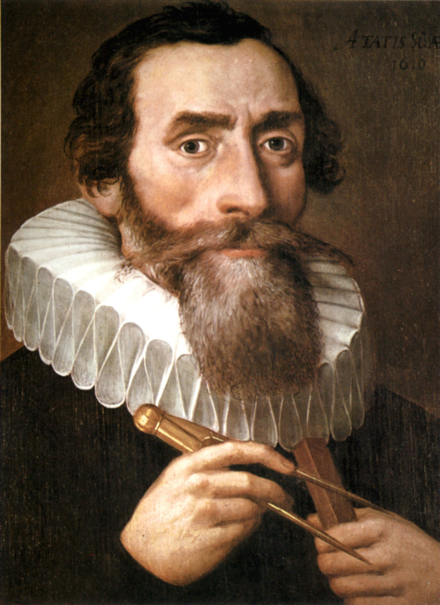 JOHANNES KEPLER IN 1610