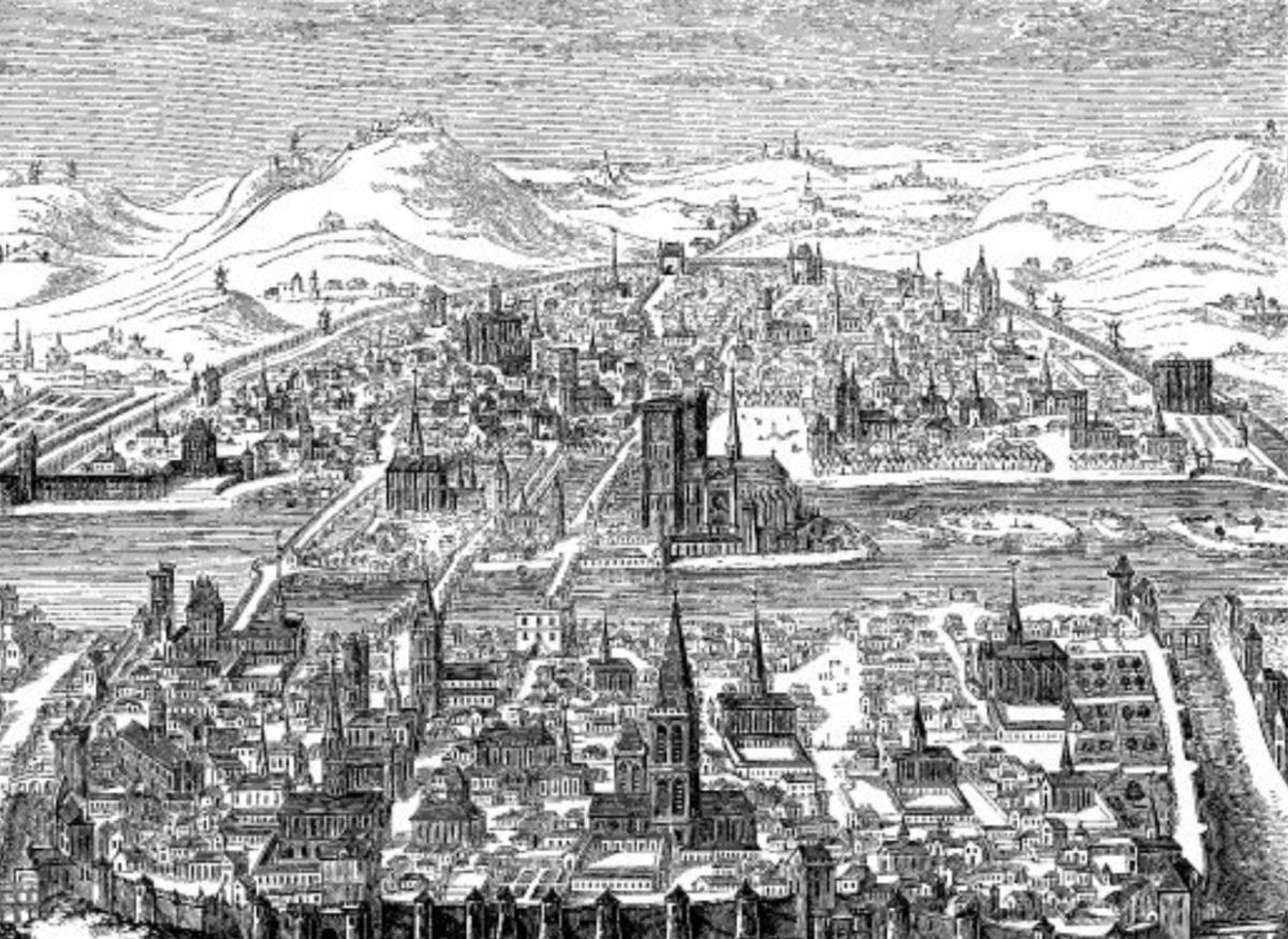 17 CENTURY PARIS