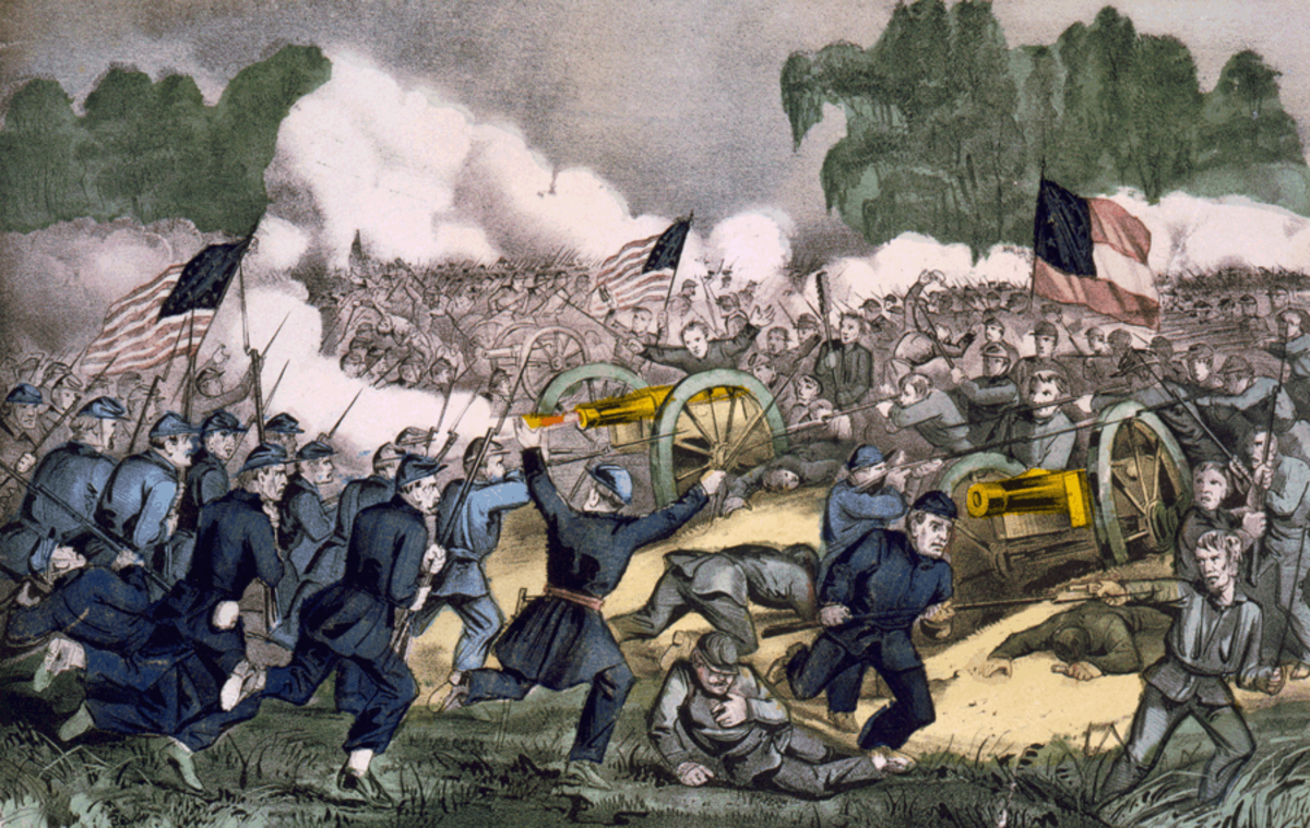 The Battle of Gettysburg by Currier and Ives Image Credit: Wikipedia