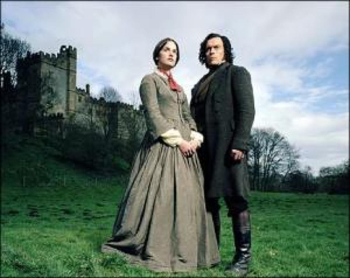 Rochester takes Jane Eyre to his remote castle, where he is not exactly a perfect gentleman.