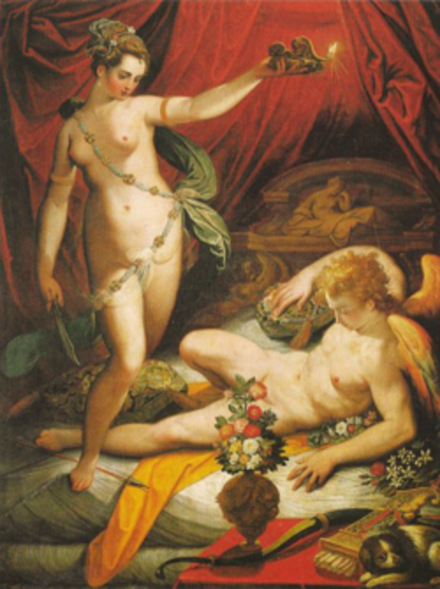 Amor and Psyche - Jacopo Zucci