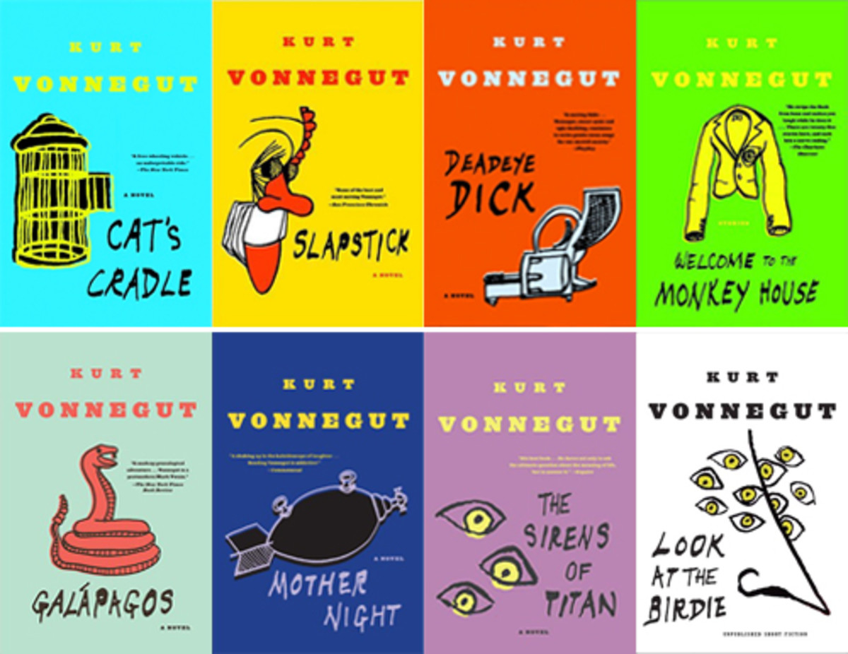There are many more novels by Vonnegut, all of them delightful and sad in their own way.