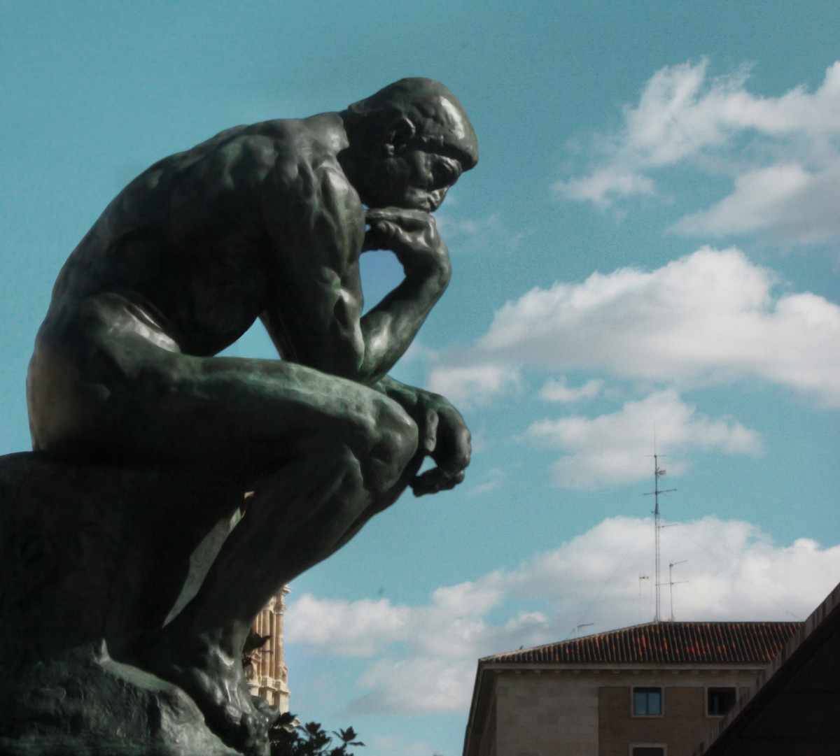 "Rodin's ""The Thinker""; Shared under the Creative Commons Attribution 2.0 Generic license (https://creativecommons.org/licenses/by/2.0/legalcode)"