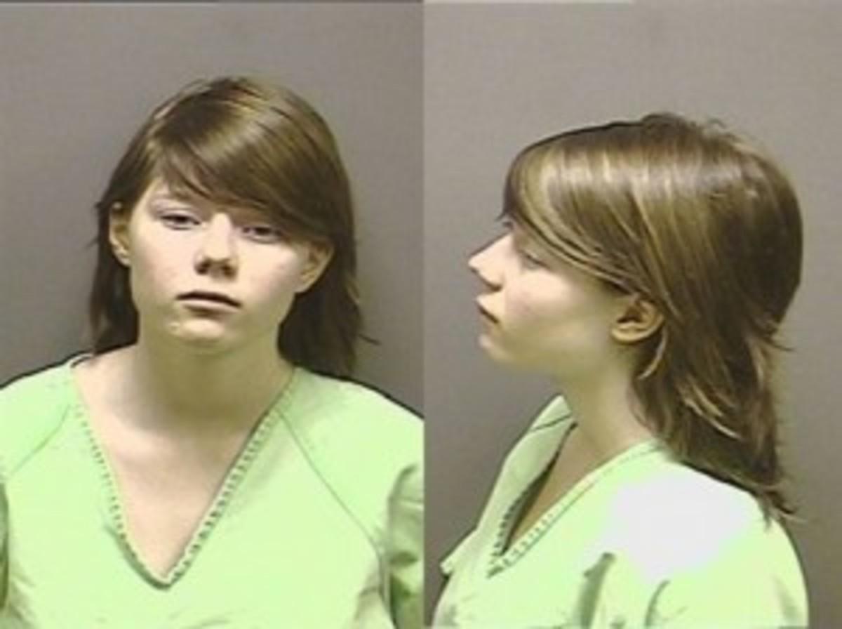Cold Blooded Murderer: Alyssa's mugshot.