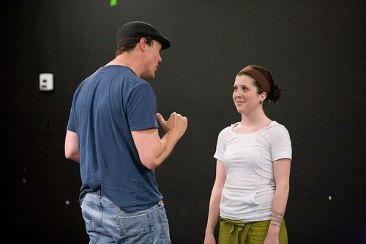 Acting it out! (Image from the Vancouver Film School )